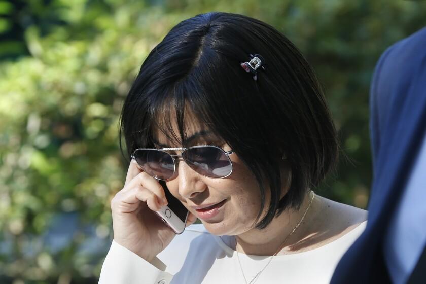 Claudia Díaz, former nurse of late Venezuelan President Hugo Chávez
