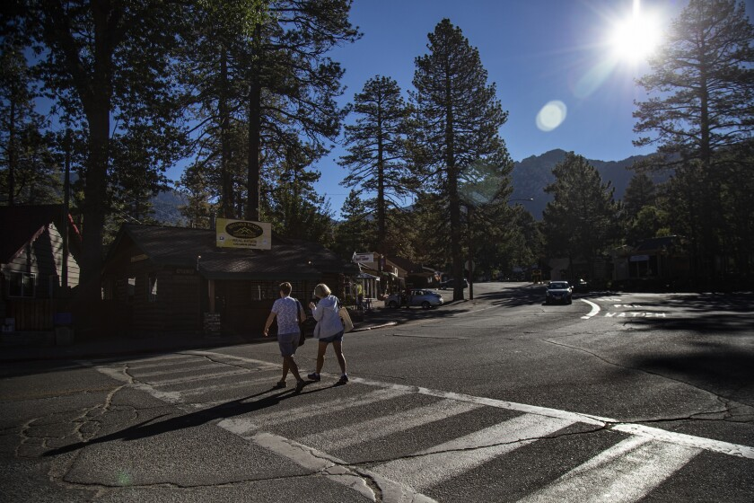 Idyllwild prized its isolation. Now, with the roads into ...