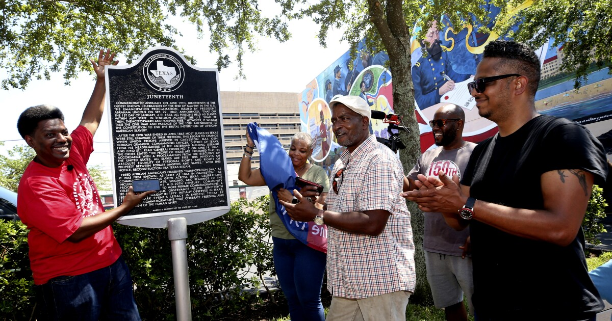 Juneteenth is in its 156th year as many begin celebrating it - Los Angeles Times