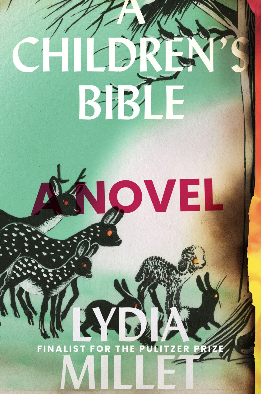 """Cover jacket of the book """"A Children's Bible""""  by Lydia Miller."""