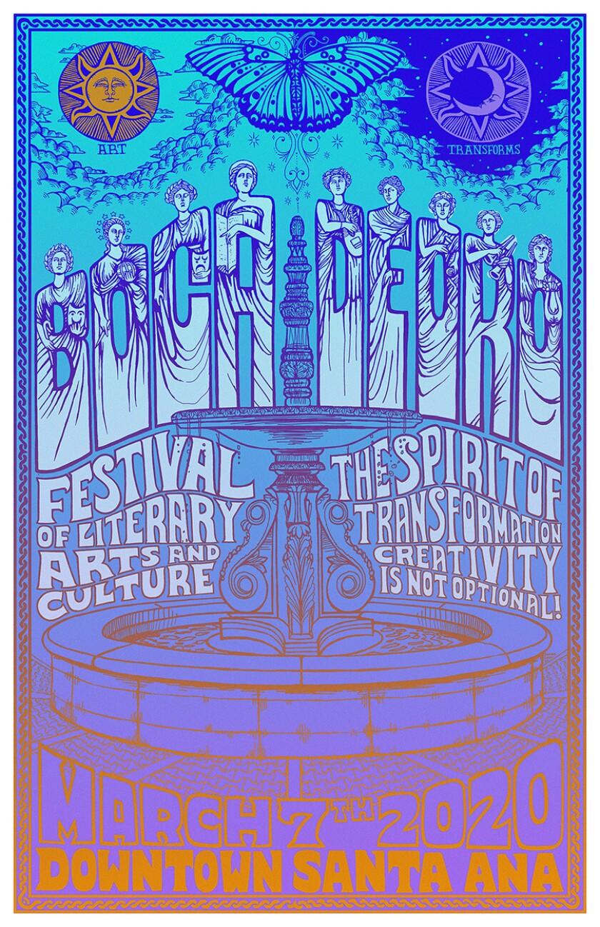 Boca de Oro Festival 2020 poster