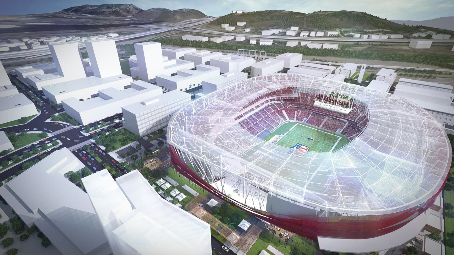 San Diego State details how NFL could fit with stadium proposal - The San  Diego Union-Tribune