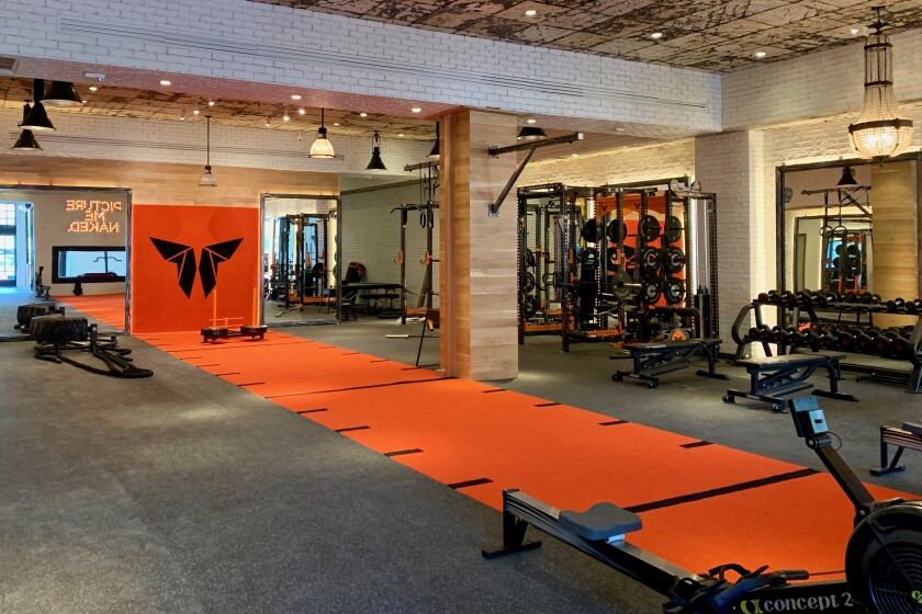 West Hollywood's newly opened Monarch Athletic Club
