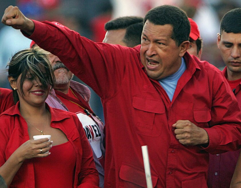 Venezuelan President Hugo Chavez's rhetorical flourishes delighted his supporters, though they often turned off his Latin American counterparts.