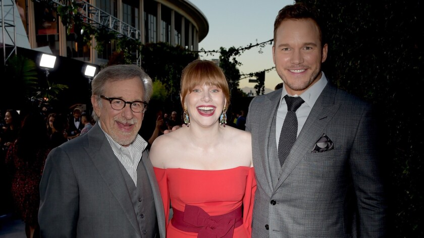 """Premiere Of Universal Pictures And Amblin Entertainment's """"Jurassic World: Fallen Kingdom"""" - Red Carpet"""