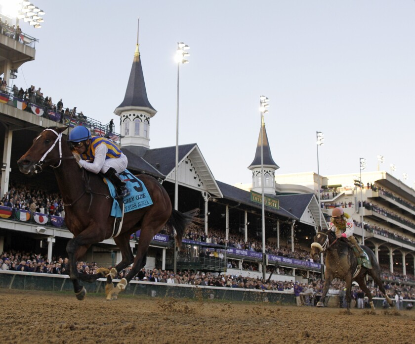 Churchill Downs to follow Santa Anita and Del Mar by hosting the 2018 Breeders' Cup