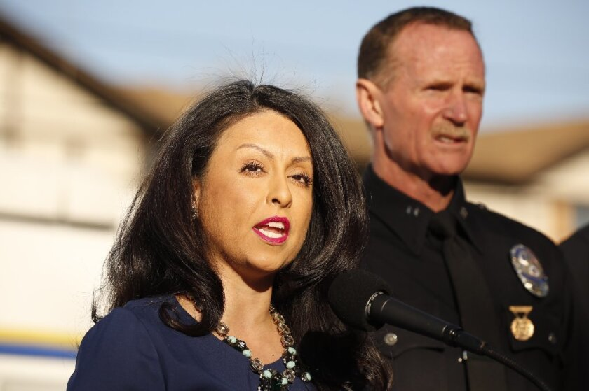 Los Angeles City Councilwoman Nury Martinez is pushing for cuts of up to $150 million at the LAPD.