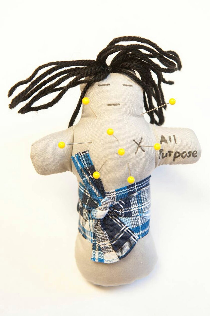 A new study finds frustrated employees who are able to take out their frustrations on a voodoo doll representing their boss feel better.