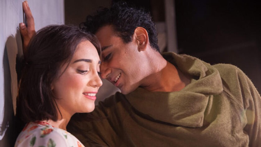 "Nikhil Pai and Erika Soto star in Independent Shakespeare Co.'s production of ""Romeo & Juliet."""