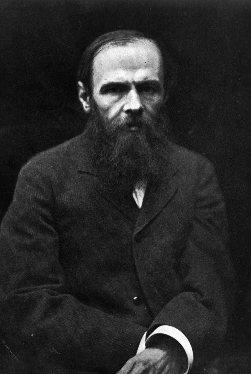 Fyodor Mikhailovich Dostoyevsky (1821-81).
