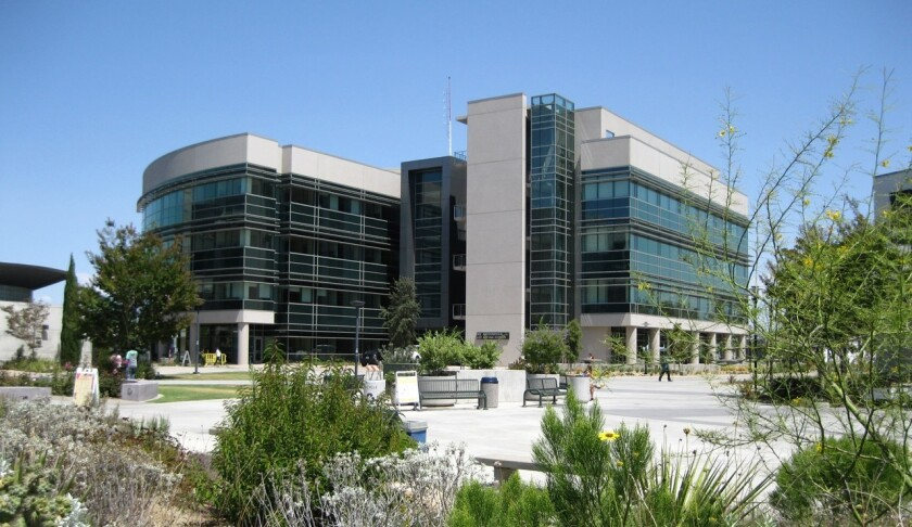 The Mesa College Math and Science Complex was completed in 2014 and was one of many projects funded with bond money from Propositions S and N. It is the largest instructional facility at a California community college.
