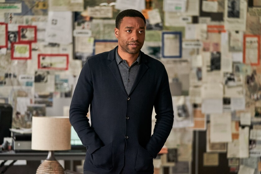 "Chiwetel Ejiofor in ""The Old Guard."""