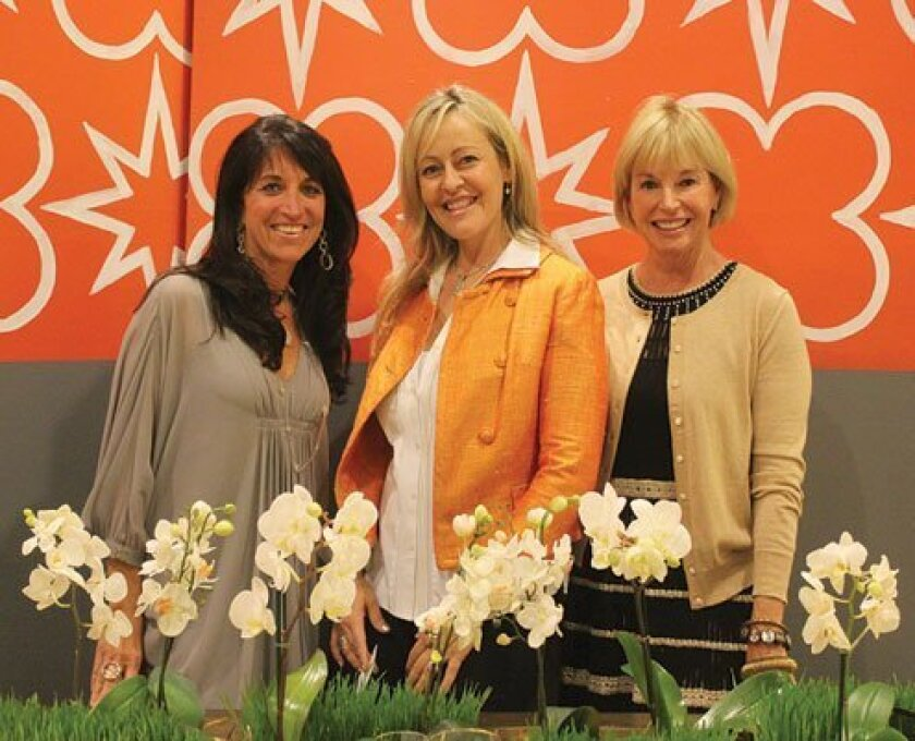 Design Chair Sherrie Black, Kathryn Gaynor and Las Patronas President Pat Marsch