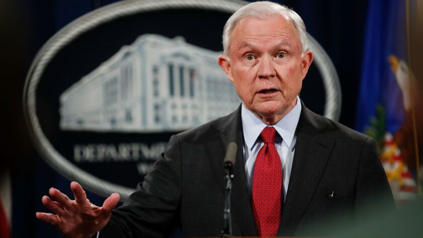 Atty. Gen. Jeff Sessions has signaled that he planned to be heavily involved in setting policies aimed at reducing a court backlog of 650,000 immigration cases and deciding them more quickly.
