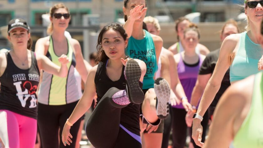 Shape Body Shop event in downtown Los Angeles offers more than 20 classes at $15 apiece.
