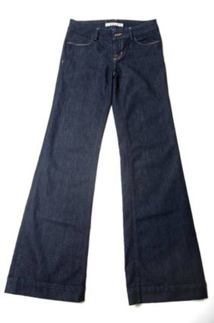 It takes 2,866 gallons of water to make a single pair of blue jeans, because they're made from water-hogging cotton.