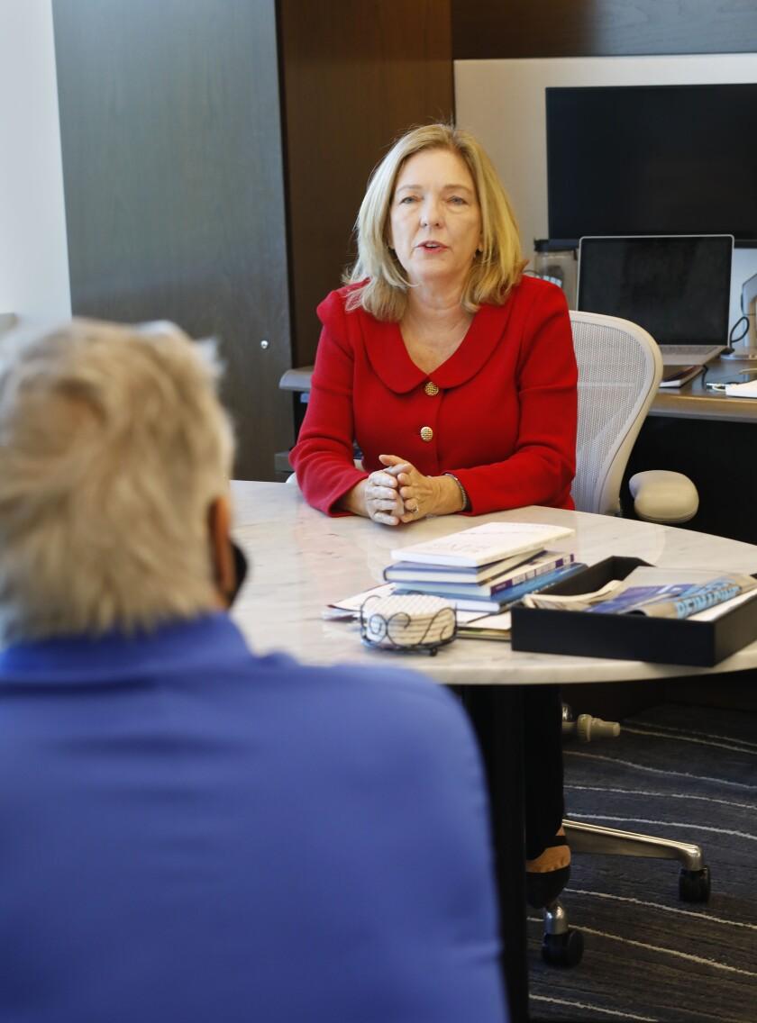 Mission Federal Credit Union CEO Debra Schwartz.