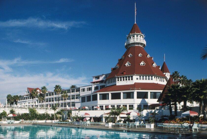 Was the Hotel del Coronado dead ahead of a runaway jet?