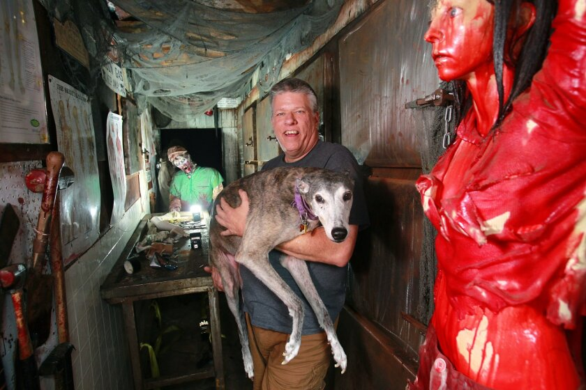 Infamous haunted house leaving town - The San Diego Union-Tribune