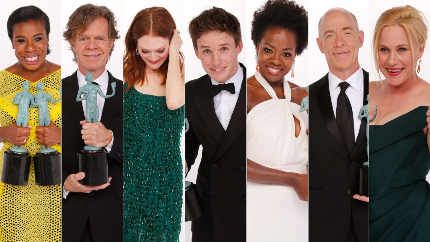 SAG Awards 2015 | L.A. Times photo booth