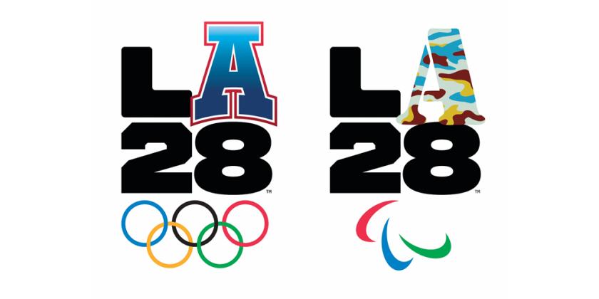 LA28 Olympic logos.