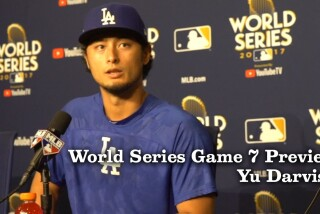 Yu Darvish talks about using his slider for Game 7