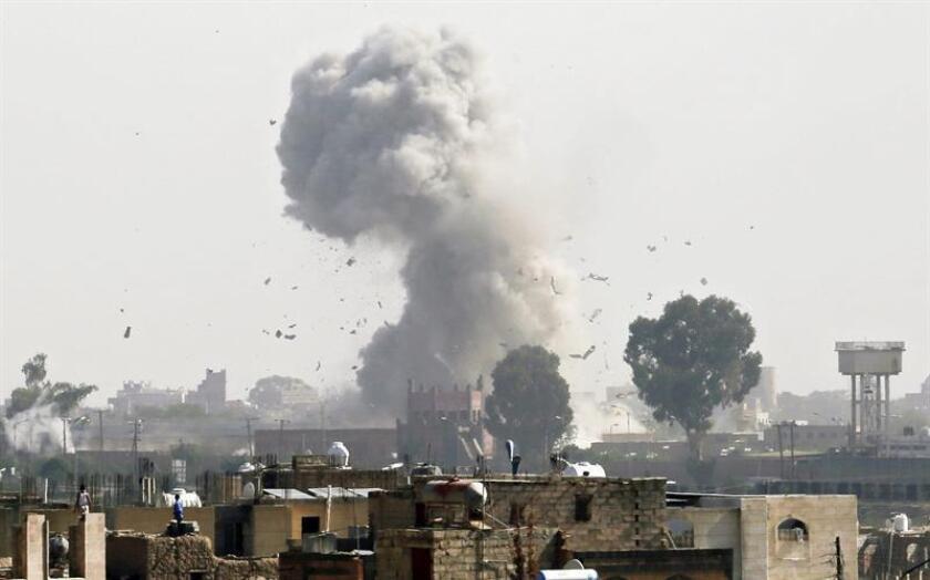 Ataque aéreo contra combatientes del grupo terrorista Al Shabab en Somalia. EFE/Archivo