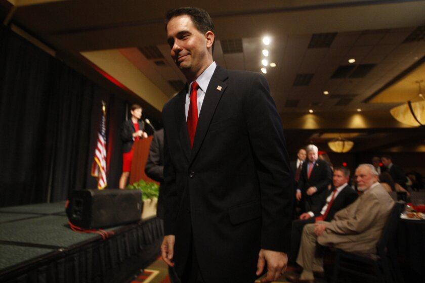 Abortion, a losing issue for Wisconsin Gov. Scott Walker