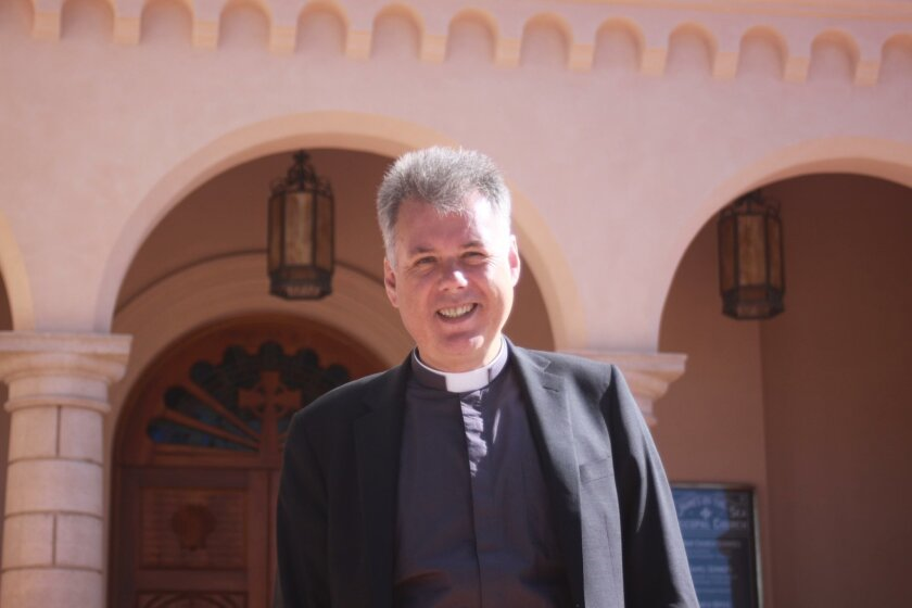Rev. Mark Kingston Hargreaves is the new rector at St. James by-the-Sea
