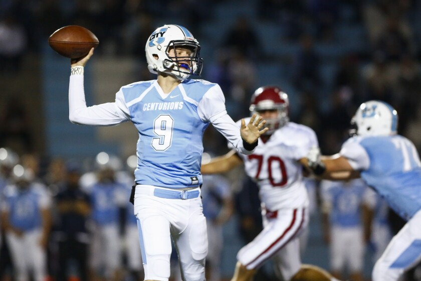 Gunnar Gray returns at quarterback for University City, which opens the season Friday against Valhalla.