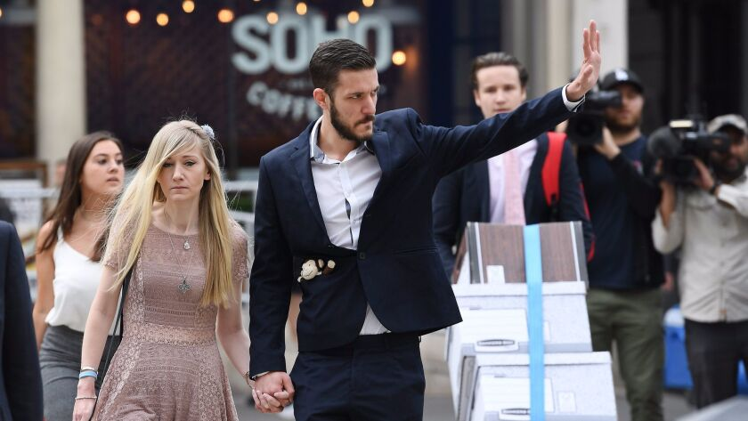 Parents of Charlie Gard deliver petition
