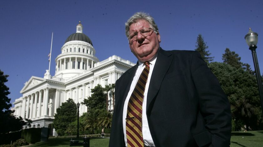 Former Assemblyman Pat Nolan at the Capitol in Sacramento in 2007.