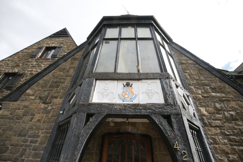 Penn State has suspended the Kappa Delta Rho fraternity whose members are being investigated by State College. Pa., police.