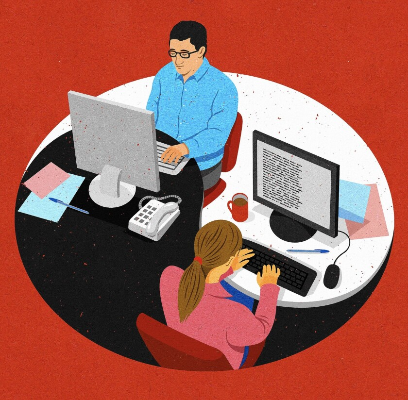 Workers who display moral symbols on their desks may preempt unethical behavior by their boss.