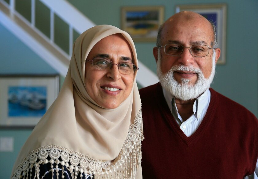 Retirees Mohammed Usman, 72, and his wife Munira Usman, 68, talk about what life is like in San Diego following the terrorist attacks in San Bernardino. The muslim couple has been living in San Diego for more than 40 years.