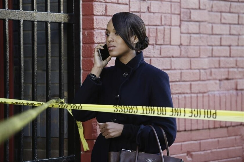 """Kerry Washington as D.C. fixer Olivia Pope in ABC's """"Scandal."""""""
