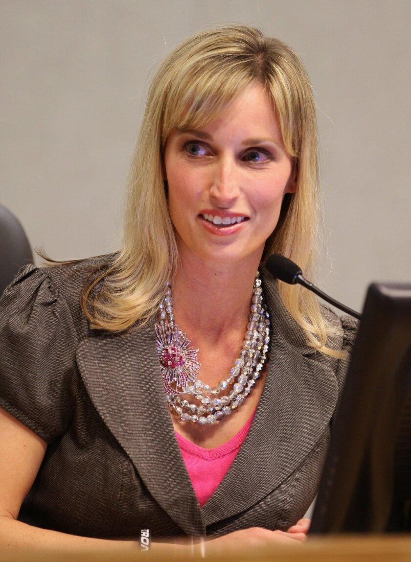 Encinitas Councilwoman Kristin Gaspar