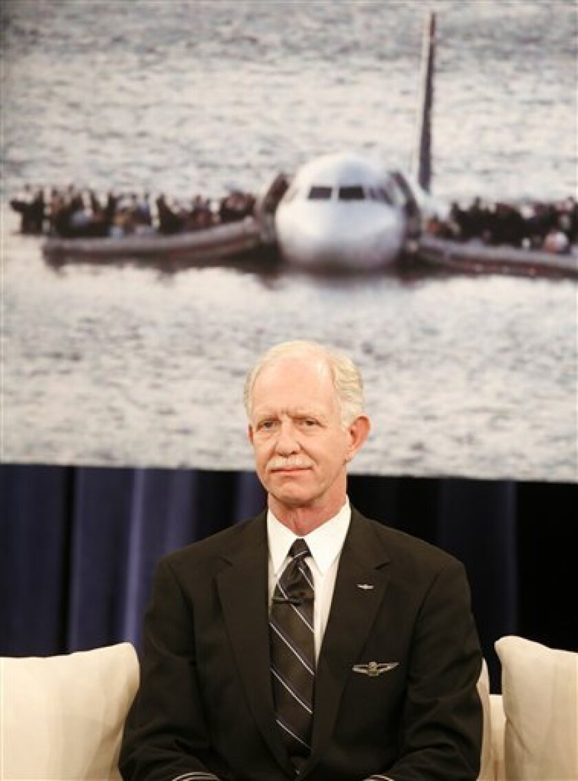 Miracle On The Hudson Pilot Retiring The San Diego Union Tribune