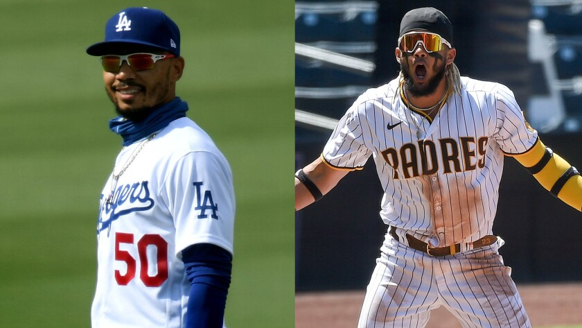 Padres vs. Dodgers: NL Division Series at a glance - The San Diego  Union-Tribune