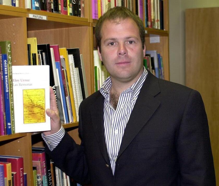 El escritor mexicano Eloy Urroz. EFE/Archivo