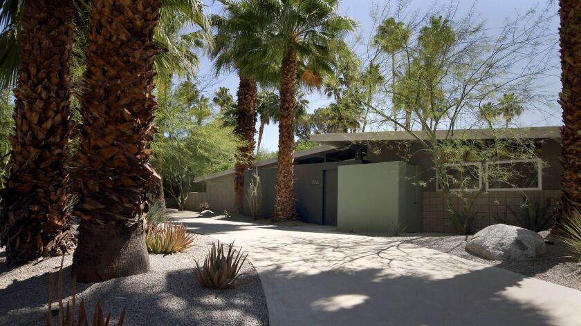 A 1959 William Krisel-designed home in the Vista Las Palmas neighborhood in Palm Springs.