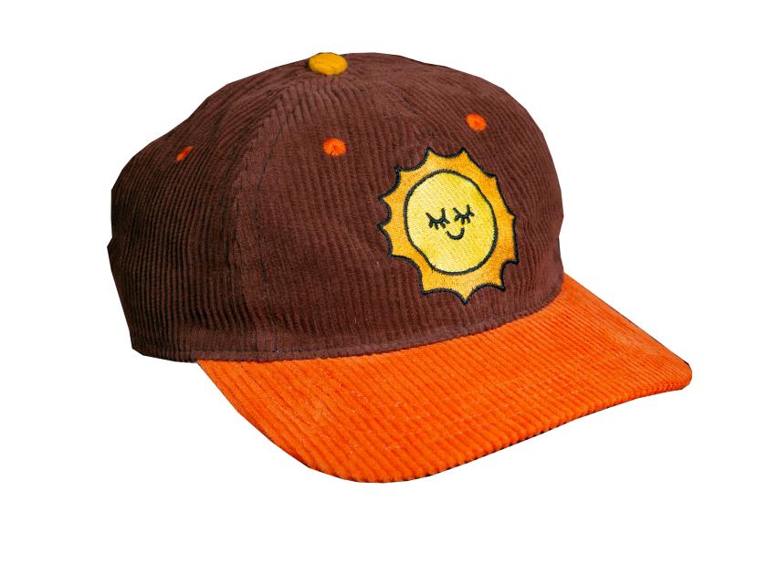Kids corduroy hat