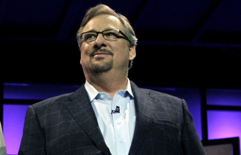 Rick Warren uses Facebook, Twitter to share sermon about loss
