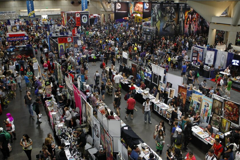 Comic-Con has grown so large that many fans often can't get into popular TV and film panels because of limited space at the convention center.