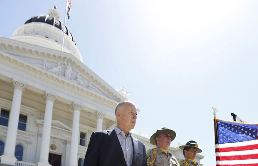 Healthcare puts Jerry Brown, Capitol Democrats on different sides