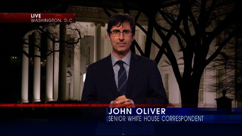 John Oliver of 'The Daily Show With Jon Stewart.'