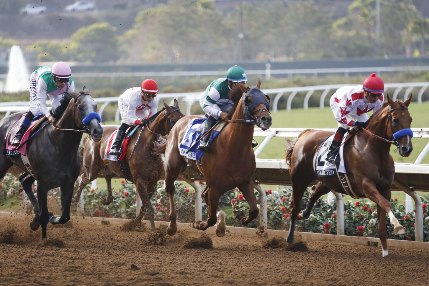 Pacific Classic: Race to the finish
