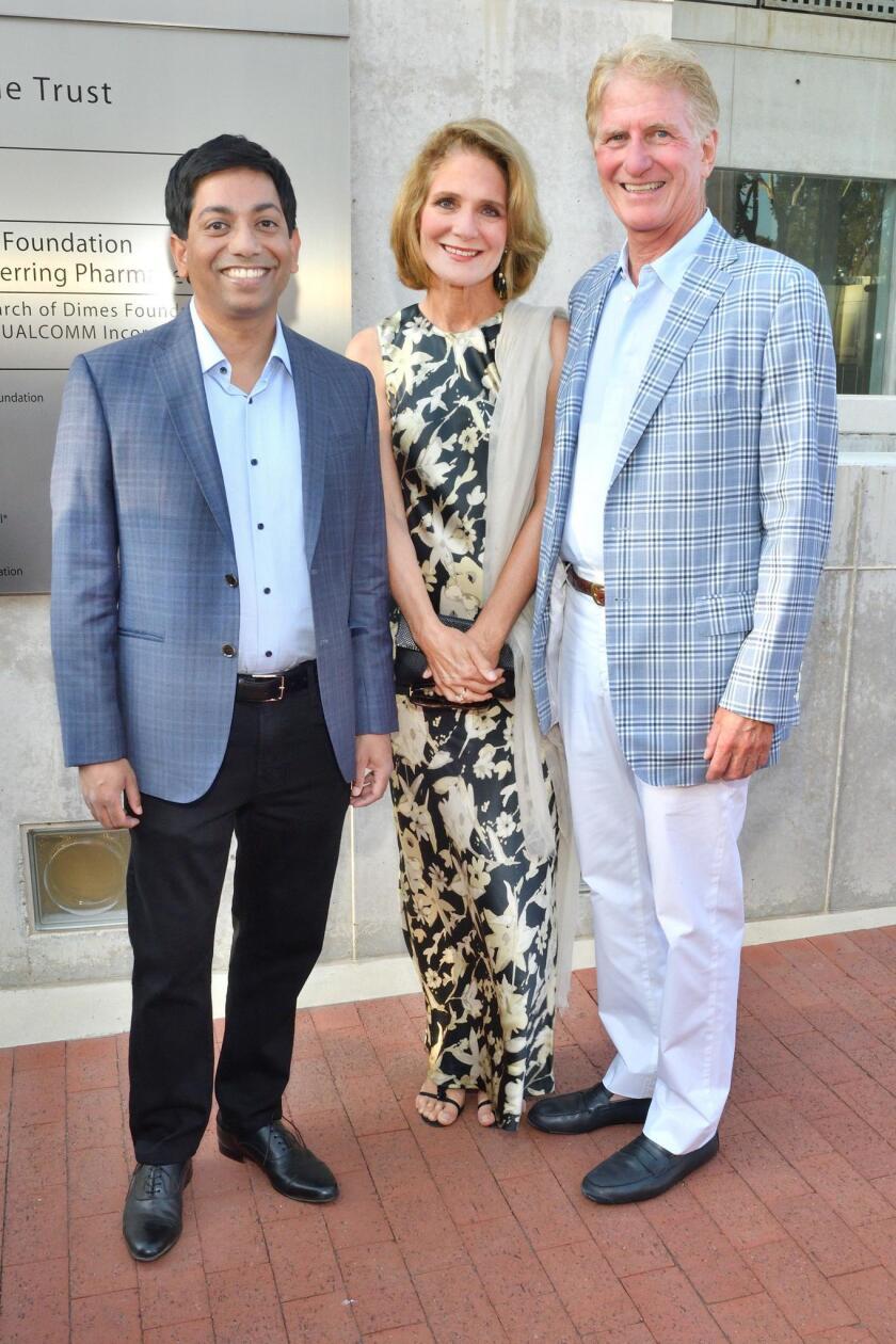 Raj Krishnan, Debby and Wainwright Fishburn