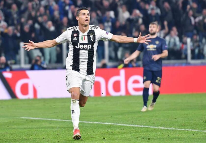 El jugador del Juventus Cristiano Ronaldo. EFE/Archivo