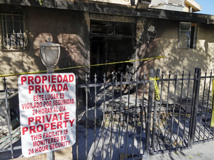 A mosque fire in Palm Springs